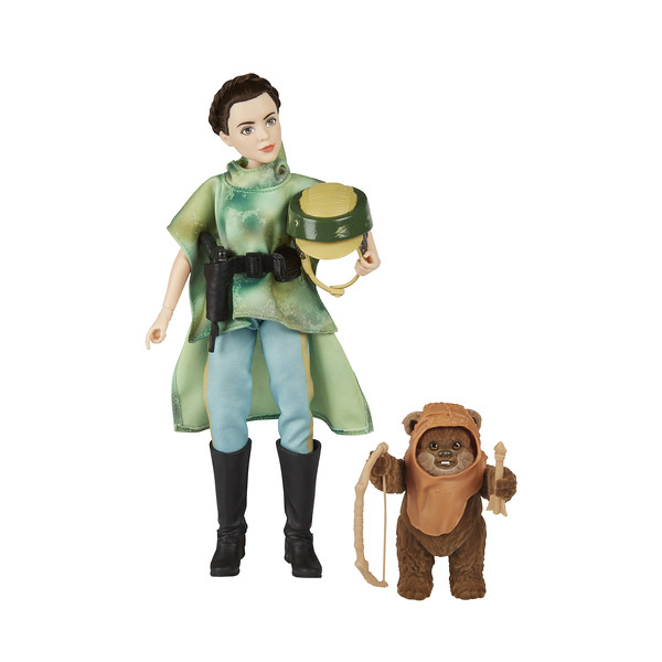 STAR WARS FORCES OF DESTINY ADVENTURE:  Leia & Wicket (Photo: Hasbro)
