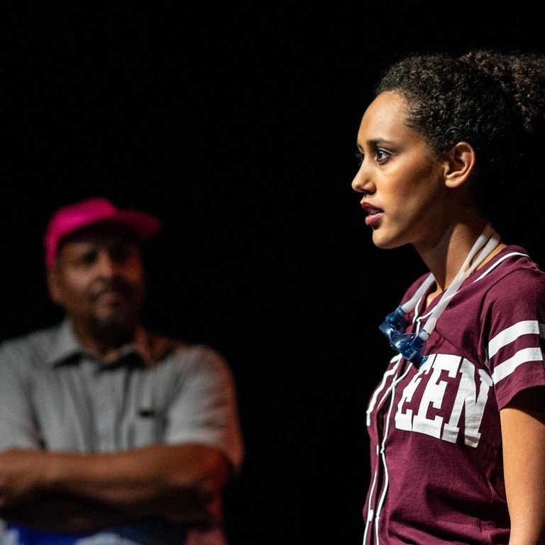 Lori Pitts as Roya at Ally Theatre Company (Image: Teresa Castracane)<p></p>