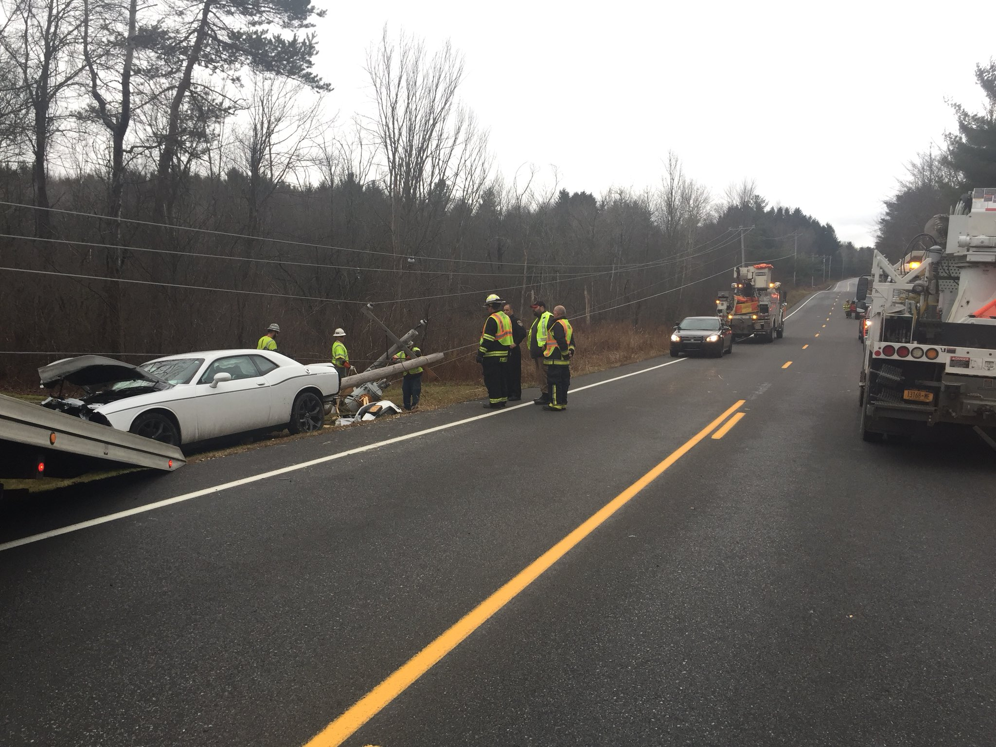 Sheriff's Office: 24 year taken to hospital after crash in Duanesburg