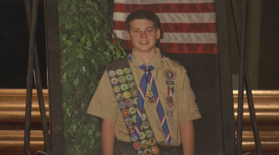 Weise said she was also inspired by her brother who became an Eagle Scout (KRCG 13){&amp;nbsp;}<p></p>