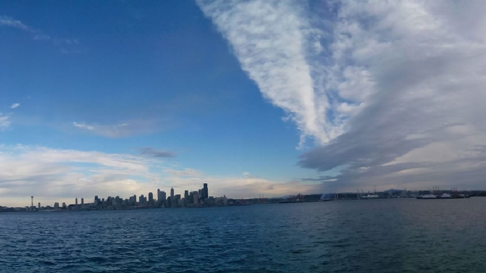Watch: Incredible time lapse shows snow storm approaching Seattle