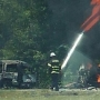 I-95 shut down from Robeson to Dillon County, several vehicles on fire