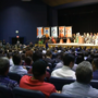 Parents angry, locked out of UTEP Honors Convocation after building reaches capacity