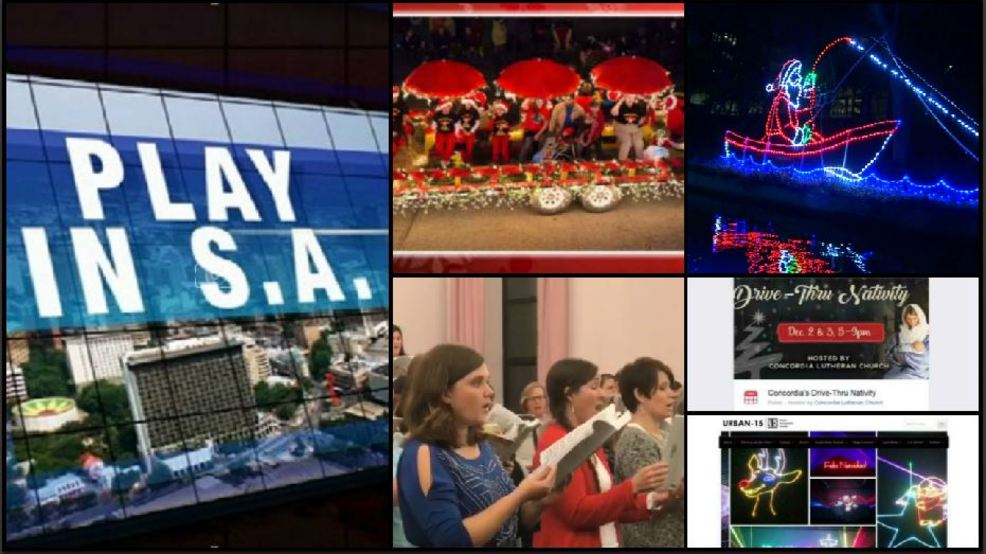 Play in SA: Weihnachts Parade, River of Lights, Live