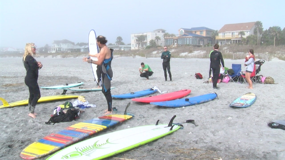 Foundation helps veterans find firm footing after deployment -- on a surf board