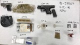 RPD arrests two on weapons, drugs charges during hotel patrol