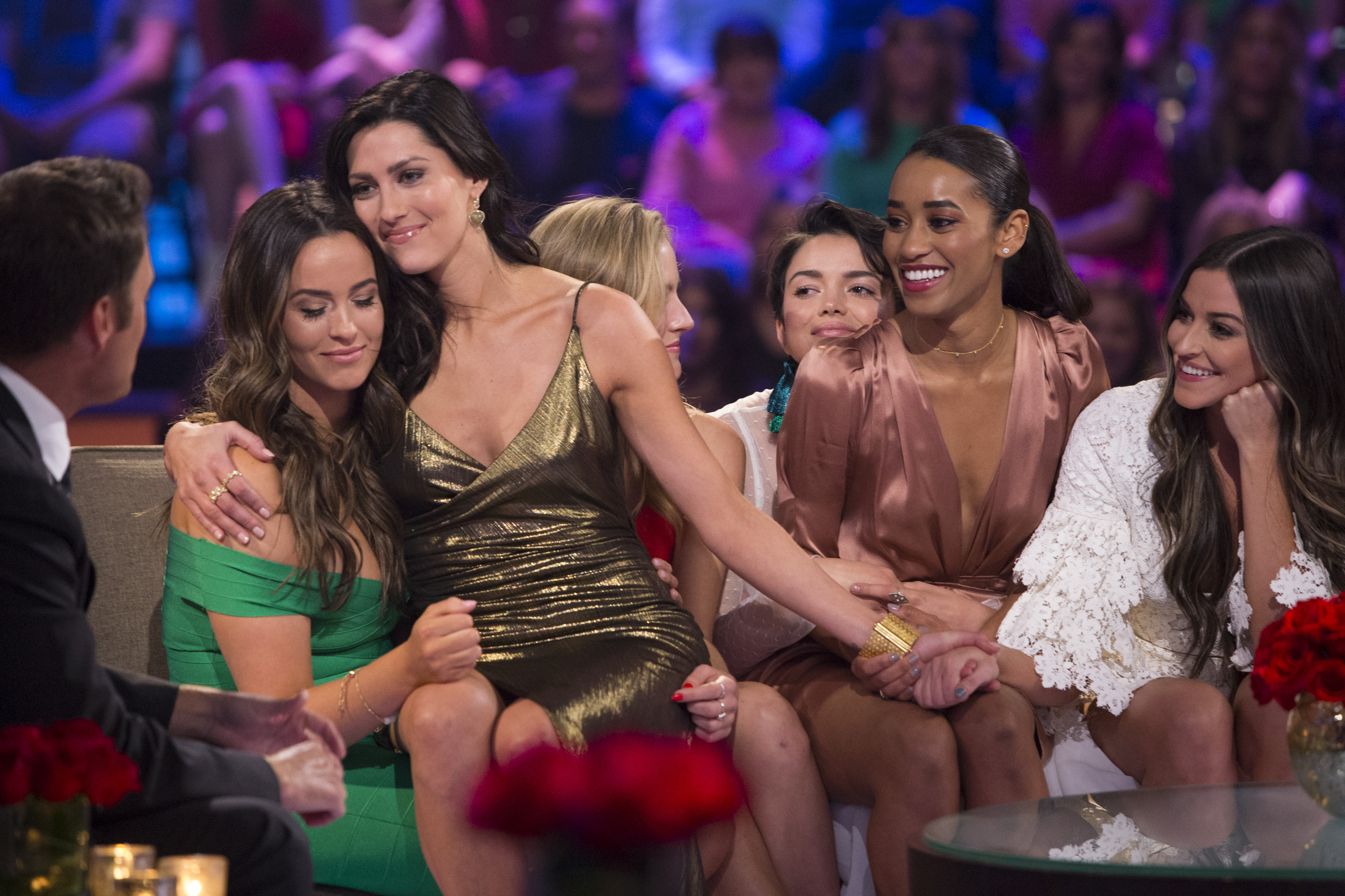 Most importantly, she clearly values sisterhood and made some enduring friendships during her time on The Bachelor. (Image: ABC/Paul Hebert)