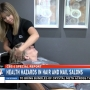 Nail and hair salons may pose health risks