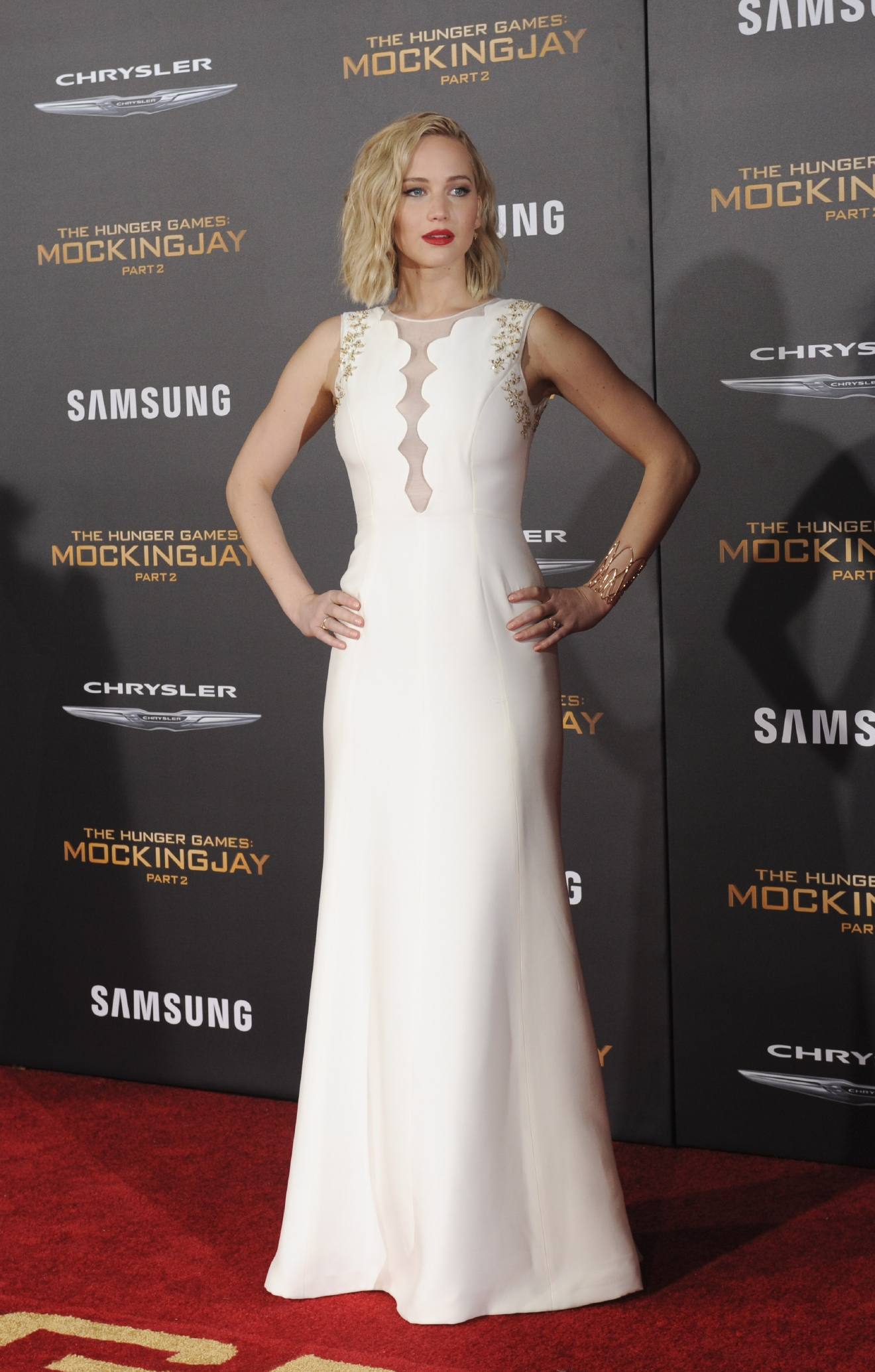 The Hunger Games Mockinngjay Part 2  Featuring: Jennifer Lawrence Where: Los Angeles, California, United States When: 17 Nov 2015 Credit: Apega/WENN.com