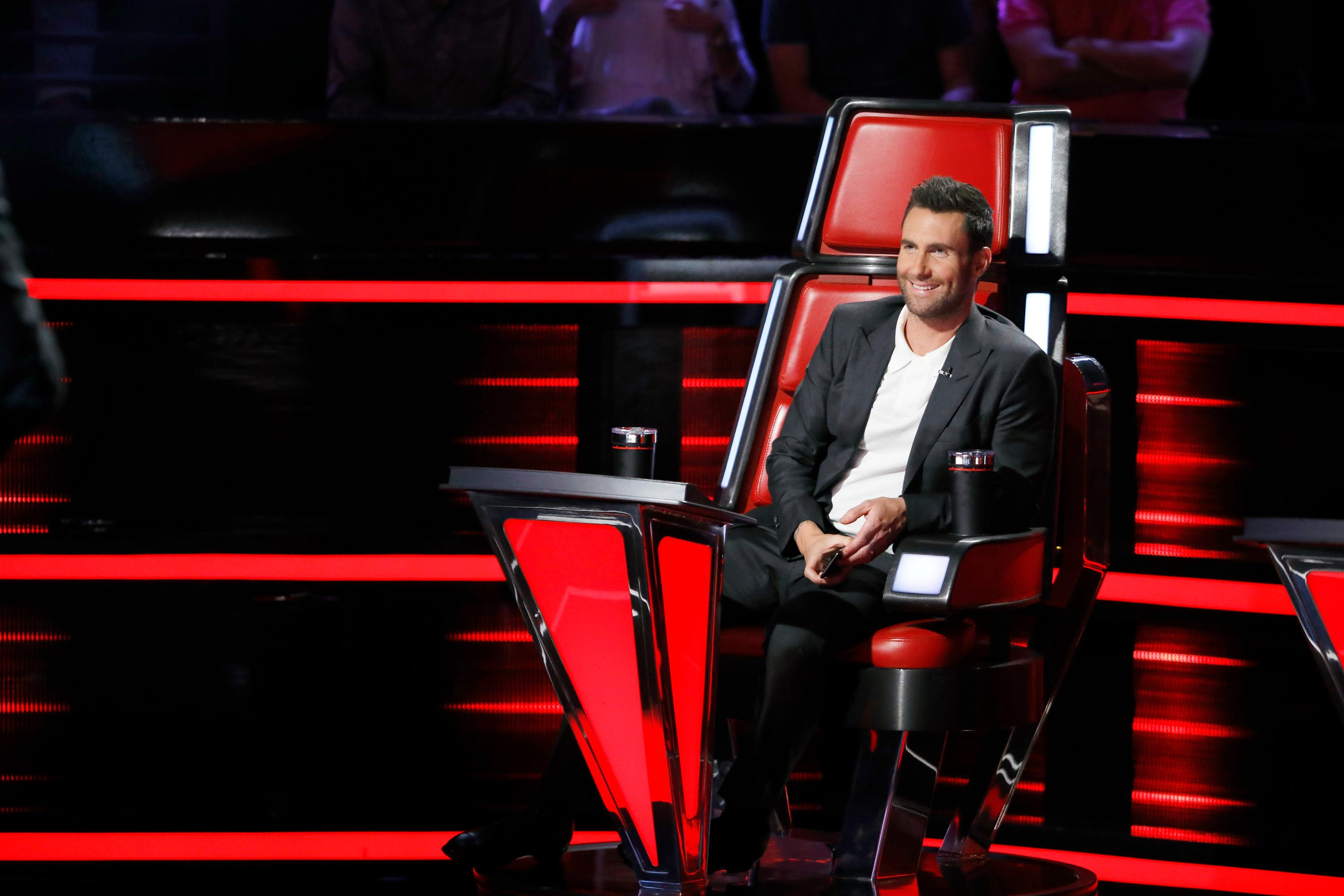 "THE VOICE -- ""Playoff Rounds"" -- Pictured: Adam Levine -- (Photo by: Trae Patton/NBC)"