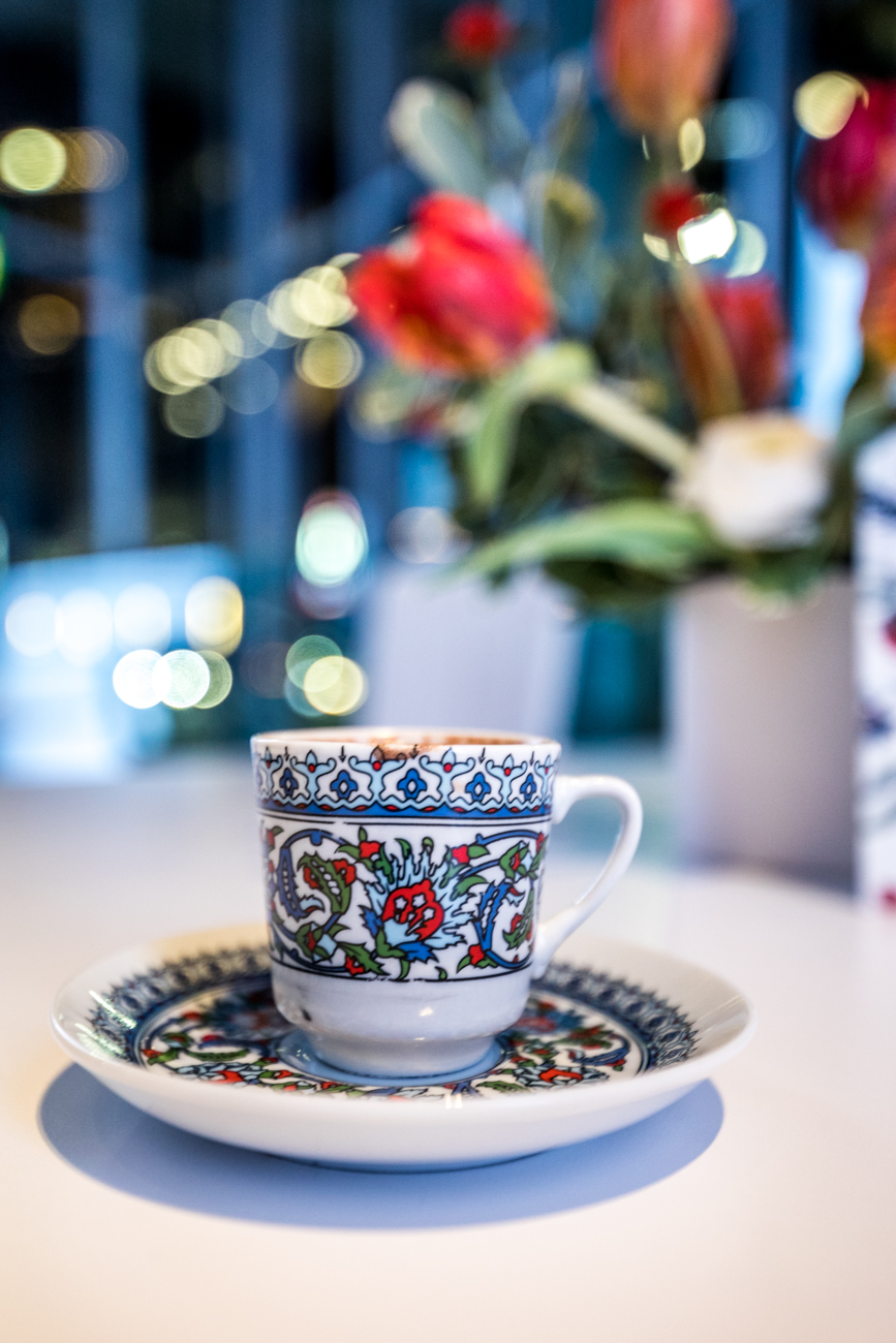 A warm cup of Turkish coffee / Image: Catherine Viox{ }// Published: 12.14.19