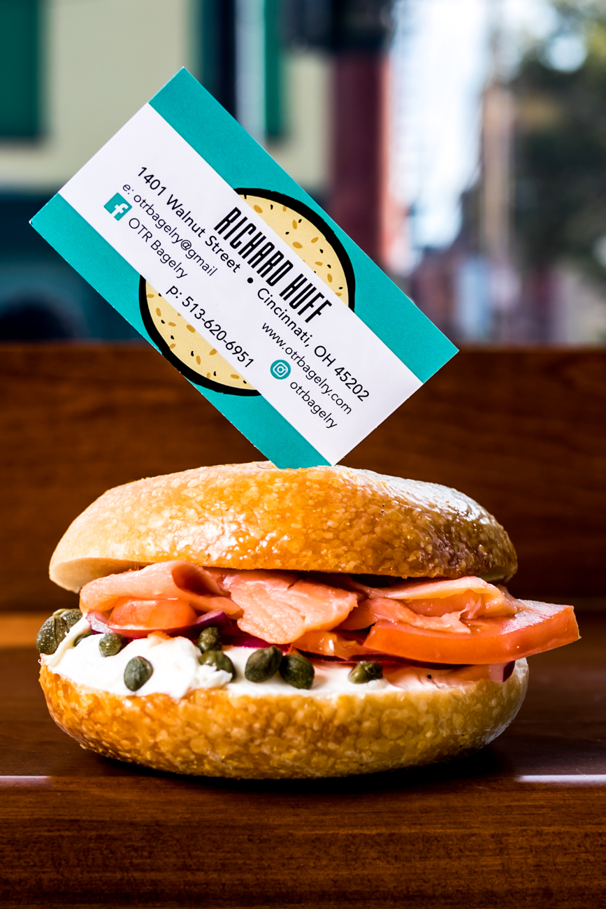 Nova lox with onions, tomatoes, capers, plain cream cheese on your choice of bagel / Image: Amy Elisabeth Spasoff // Published: 10.5.18