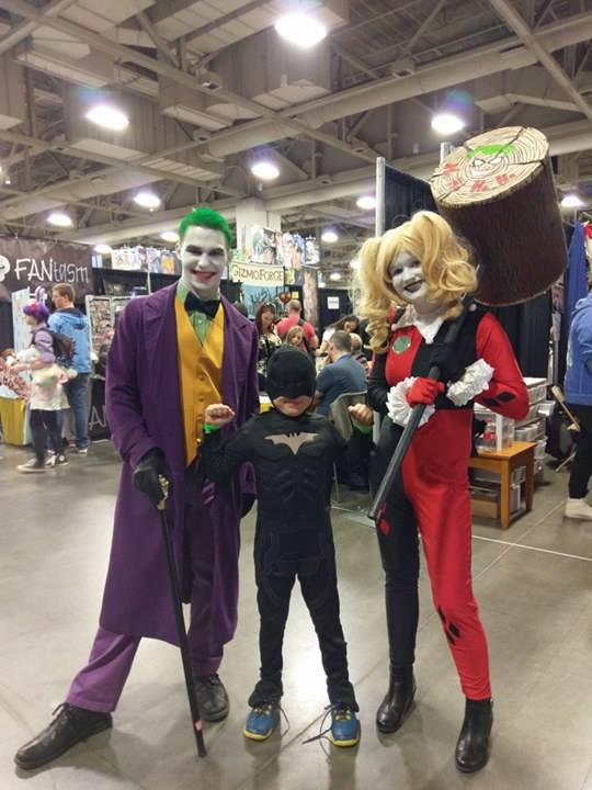 Tucker Banz and Mercedes Kinney enjoy the cosplayers and events at Salt Lake City Comic Con's FanX 2017. (Photo: Stephanie Walker-Kinney)