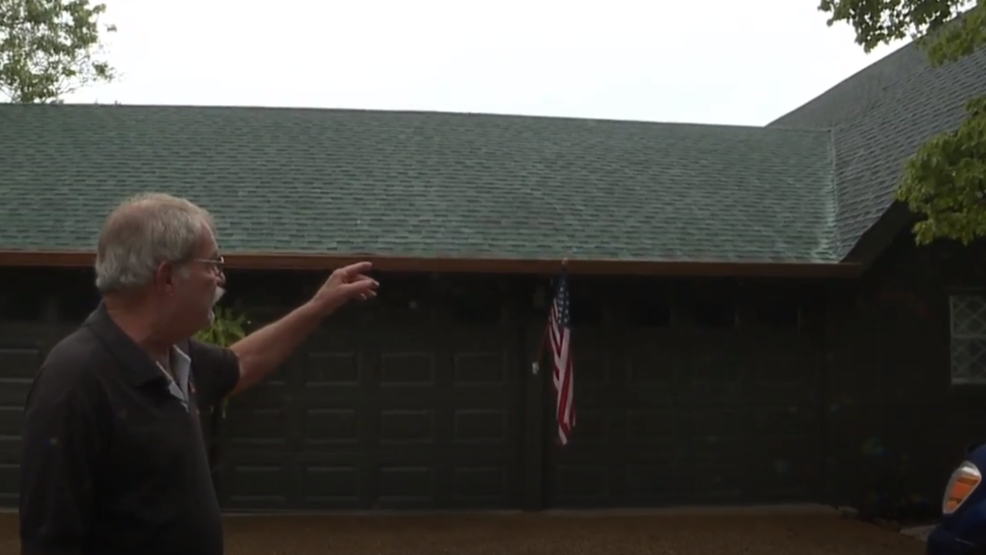 After contractors' mistake, Hixson homeowner says roof is