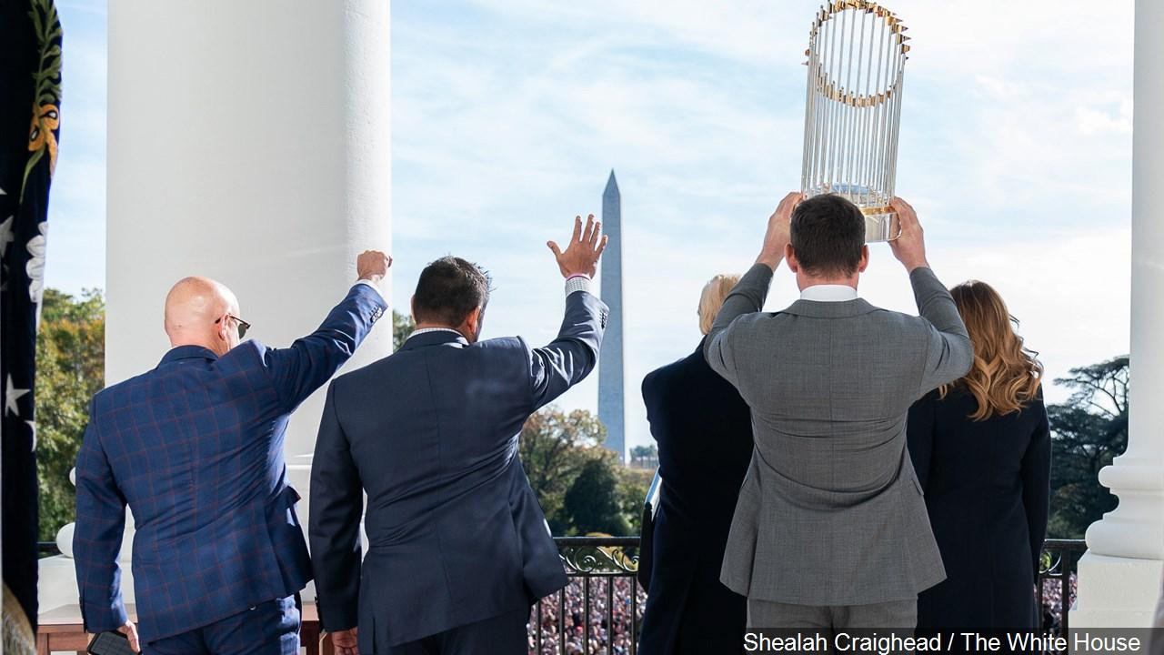 The Washington Nationals visit Washington DC after winning the World Series title. (MGN)