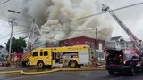 Building collapses in massive Oswego fire, 6 families without a home