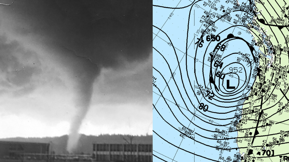 Wind storms and...tornadoes? Dec. 12 a busy day in Seattle weather history