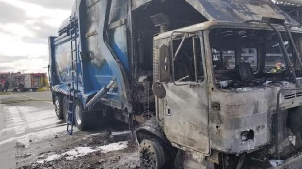 City of Boise: Hazardous waste can lead to garbage truck fires