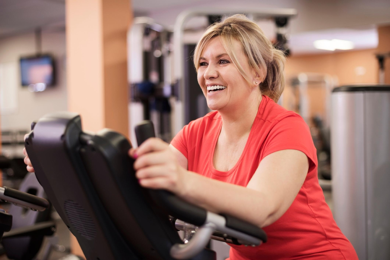 Those just getting into exercise can try out elliptical machines and other low-impact activities to avoid joint pain.