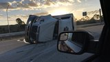 Semi truck involved crash on I-95 in Jupiter