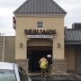 Building catches fire in south Tulsa business plaza