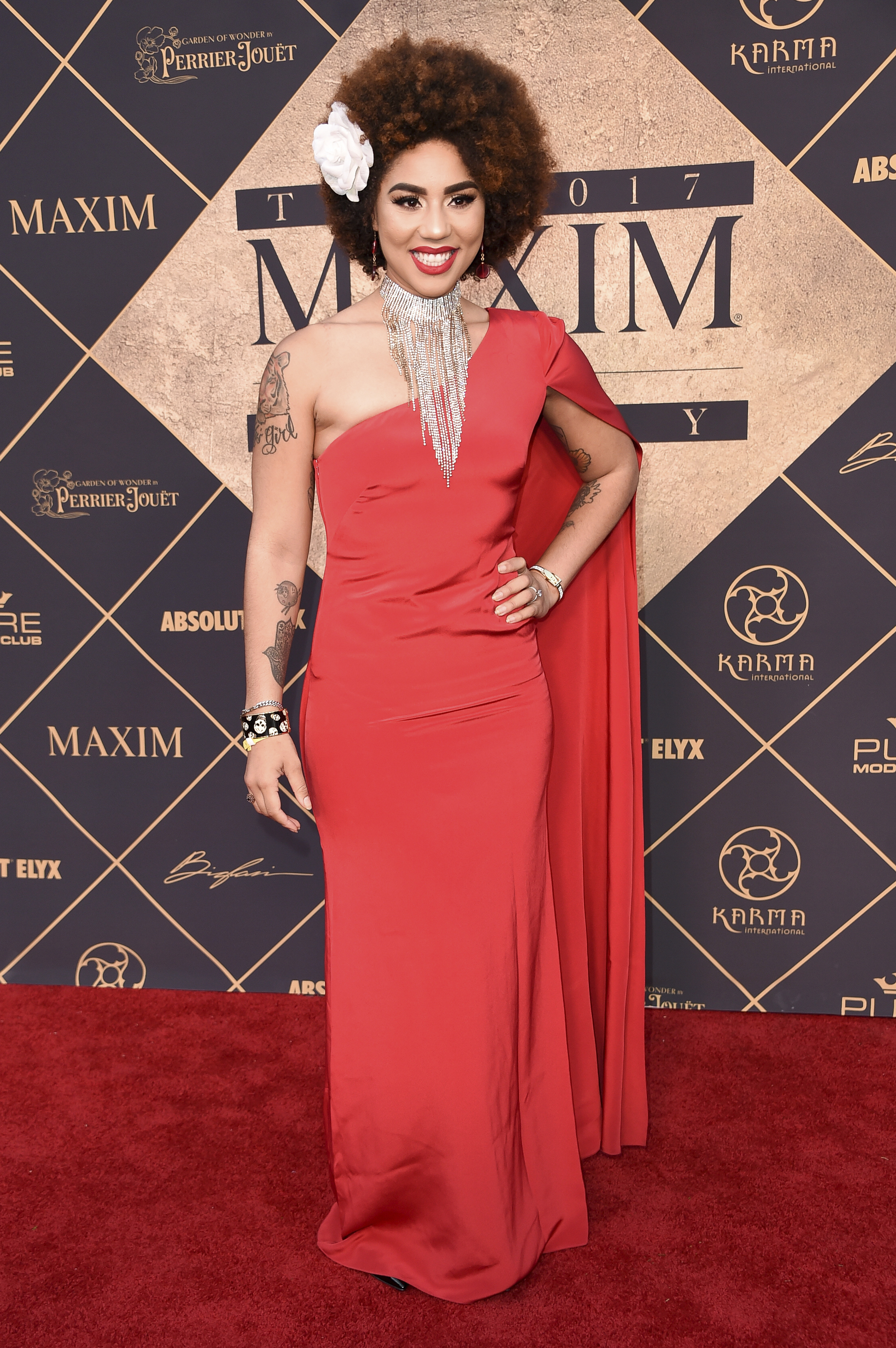 Joy Villa attends the 2017 MAXIM Hot 100 Party at the Hollywood Palladium on Saturday, June 24, 2017, in Los Angeles. (Photo by Richard Shotwell/Invision/AP)