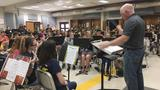 Head band director retires on a high note after 41 years of teaching music