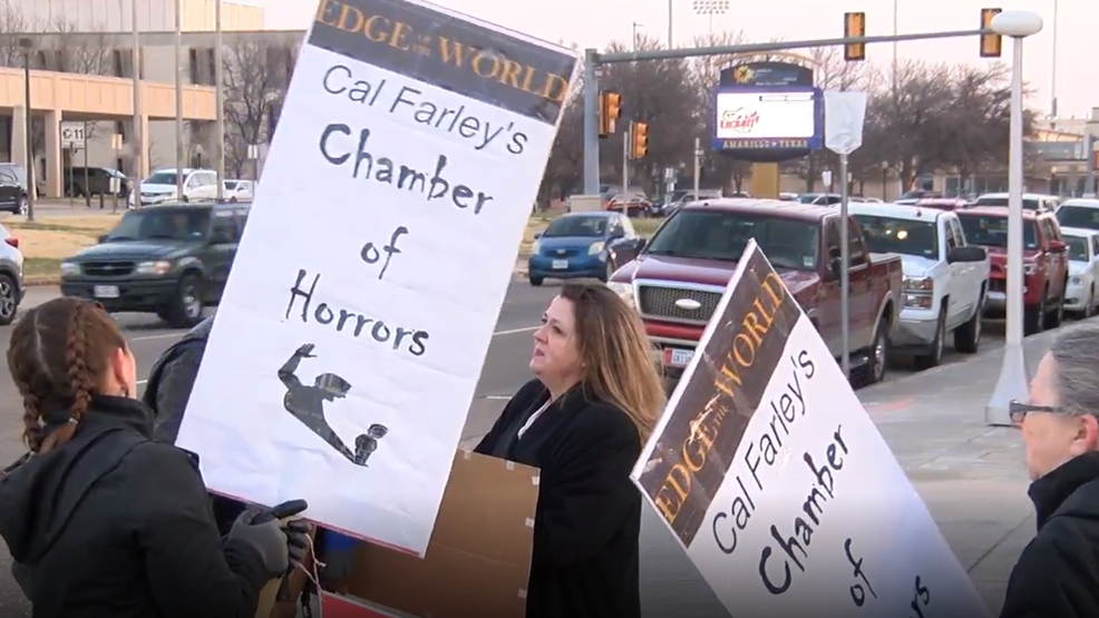 Abuse survivors protest new Boys Ranch film | KVII
