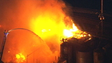 109-year-old Kent grain storage facility destroyed in predawn inferno