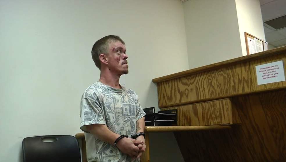 Robert Goff is arraigned during a previous appearance in Kanawha County Magistrate Court. (WCHS/WVAH File Photo)
