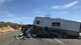 1 killed in I-90 multi-vehicle crash near Ellensburg, caused by heavy smoke