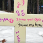 Local family heartbroken over cross missing from cemetery