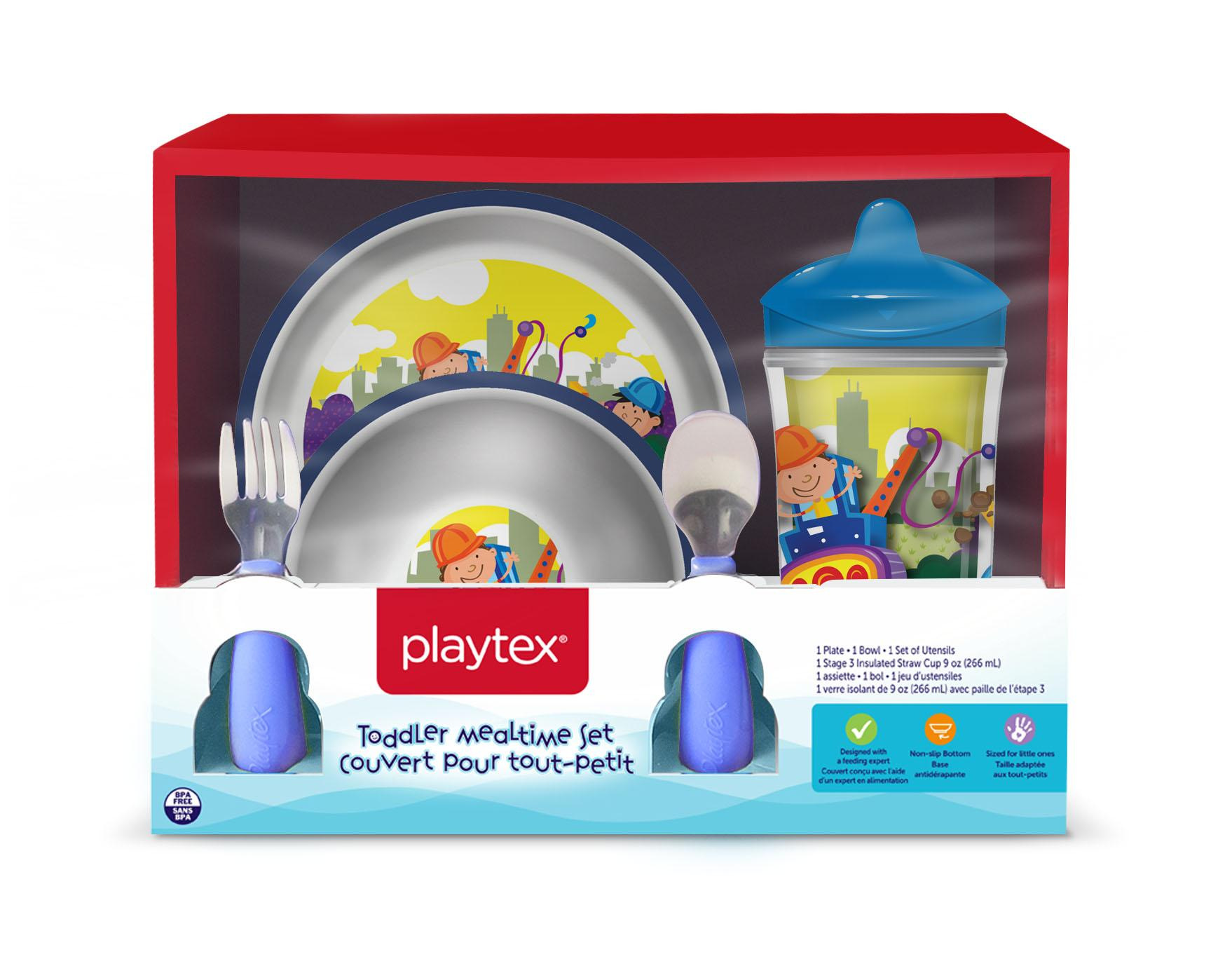 A Playtex Mealtime set (CPSC)<p></p>