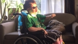 Community helps boy recovering from aneurysm