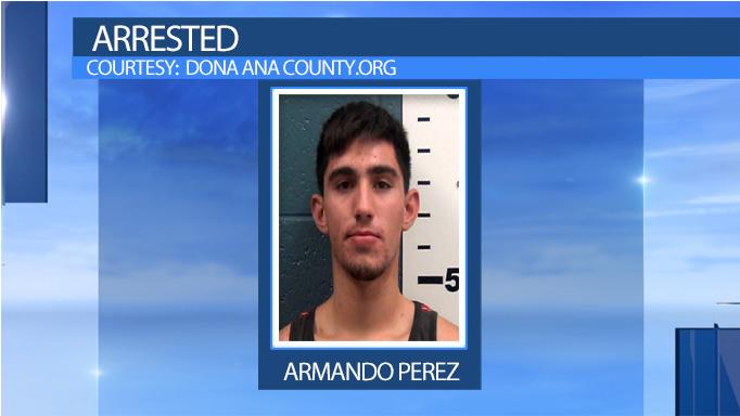 Armando Perez was arrested after authorities say he and two others tried to smuggle six undocumented immigrants out of El Paso to Phoenix.