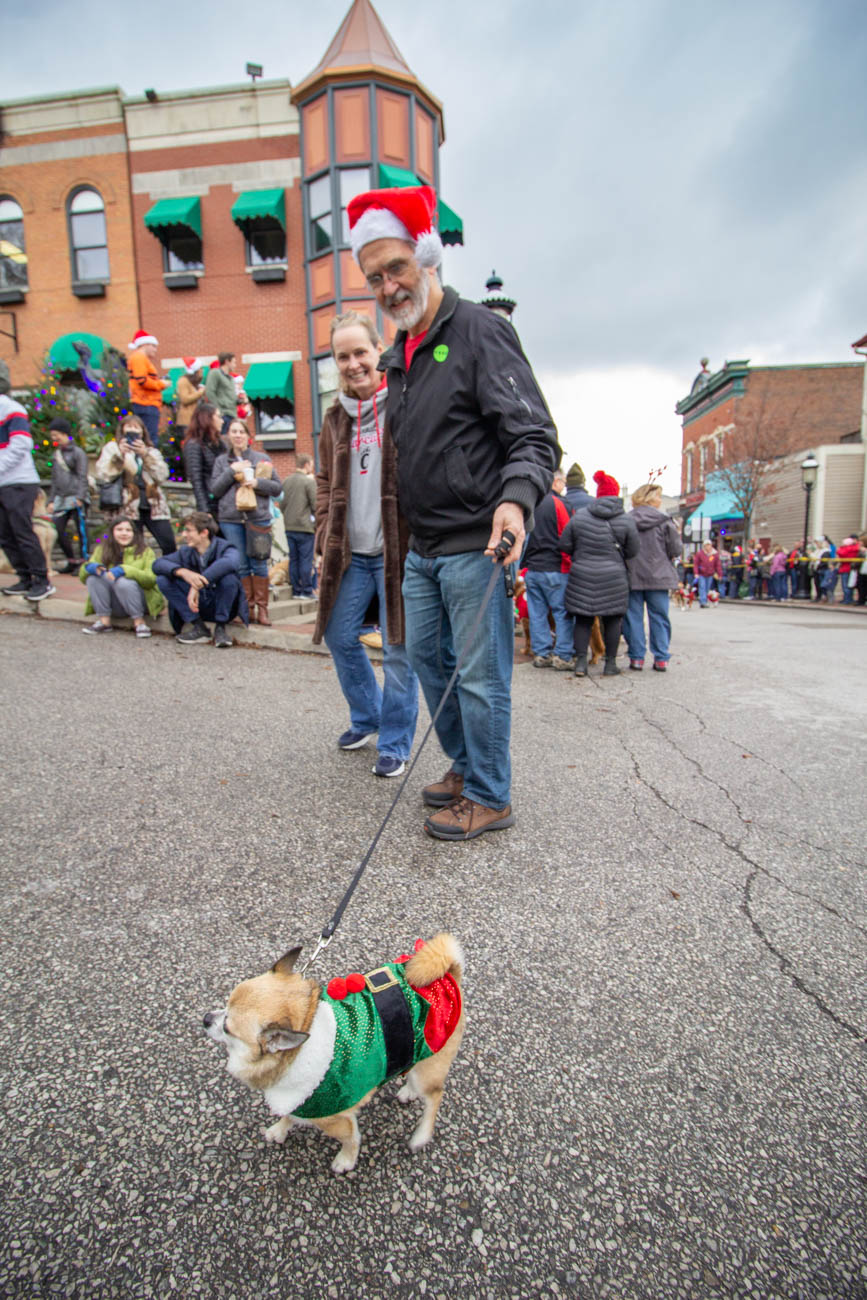 The 30th Annual Reindog Parade took place in Mount Adams on Saturday, December 14th. The day began with plenty of festive pups gathering to meet and greet at The Monastery where they registered for the costume contests. The best-dressed pooches brought home big prizes, but all of the pups had a fun time just strutting down the streets in their holly jolly costumes when the parade started. / Image: Katie Robinson, Cincinnati Refined // Published: 12.15.19