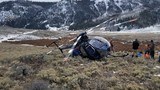 Elk takes down helicopter in Utah