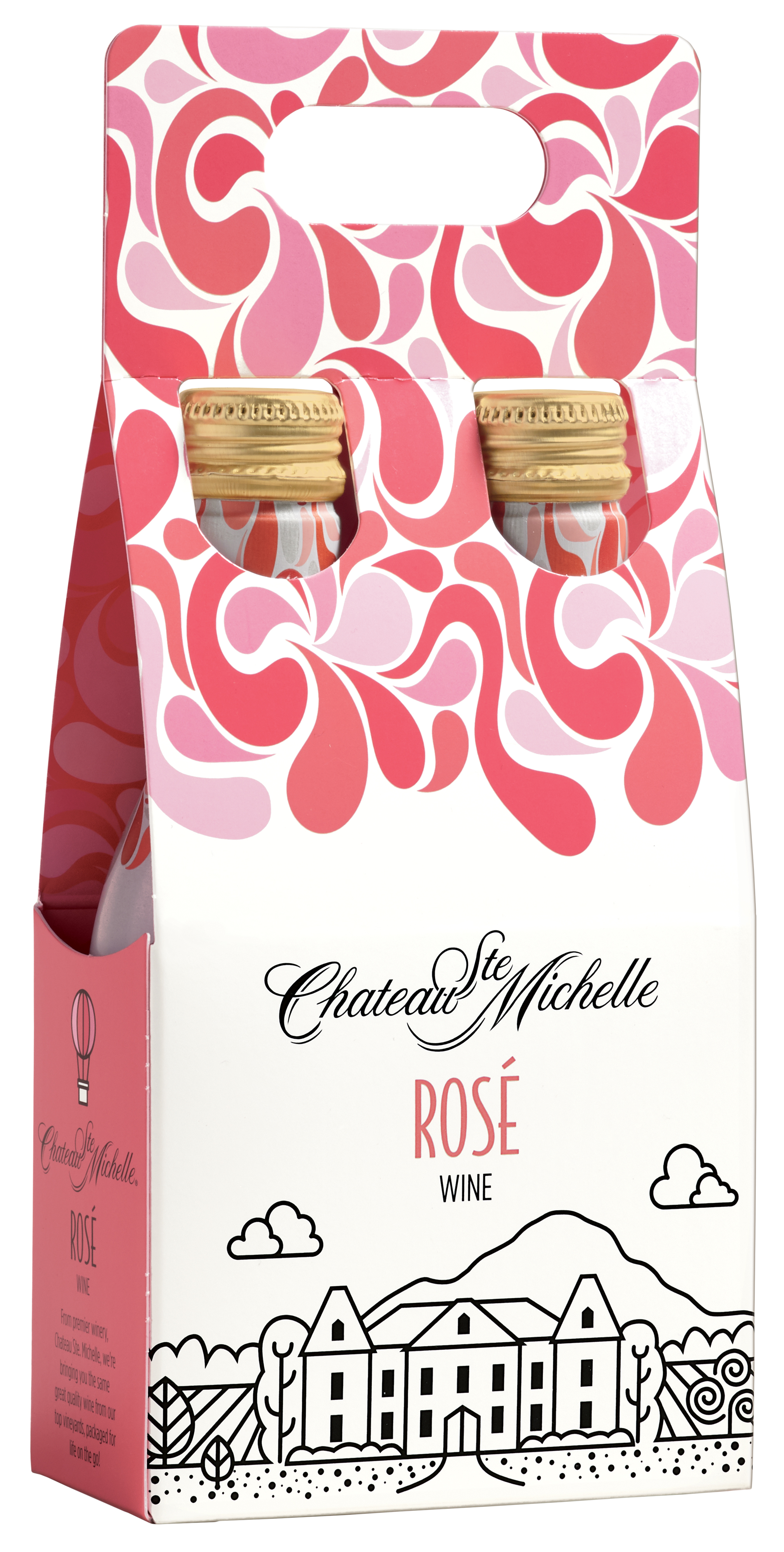 Chateau Ste. Michelle Aluminum Bottles - Rose (Image: Courtesy of{ }Chateau Ste. Michelle Winery)