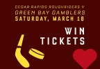 CW 14 Contest: GB Gamblers American Heart Association Night