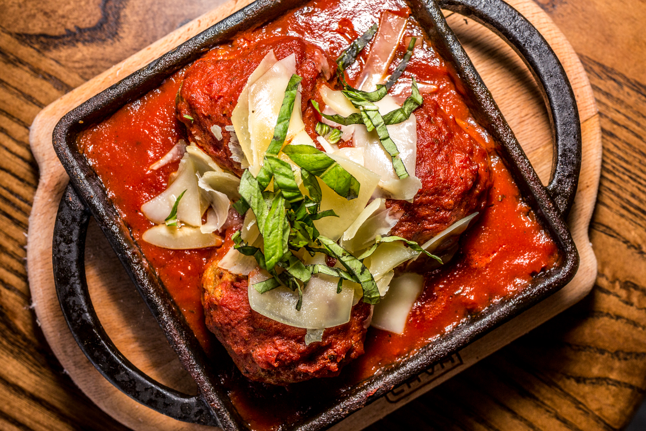 Meatballs: Delicio's signature meatballs made from scratch and served with hearty marinara sauce / Image: Catherine Viox{ }// Published: 11.10.19