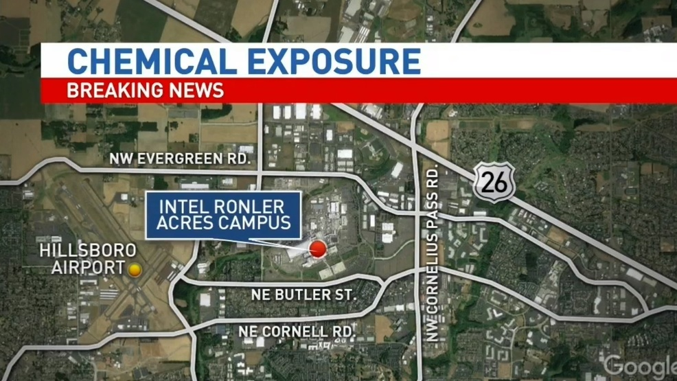 11 Taken To Hospital After Possible Chemical Exposure At Intel S