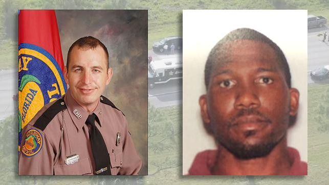 FHP Trooper Joseph Bullock shot and killed on I-95 in Martin County by Franklin Reed, 30, of Palm Bay, Florida. (FHP| FDLE)