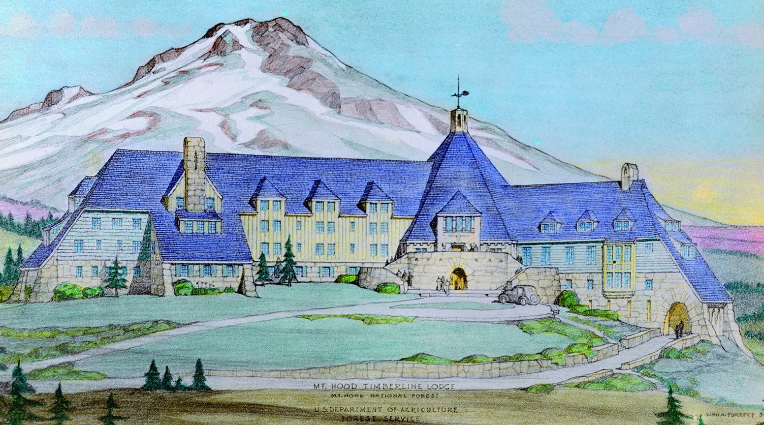 Courtesy TimberlineLodge.com
