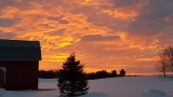 GALLERY: Photos capture beautiful sunrise around northern Michigan