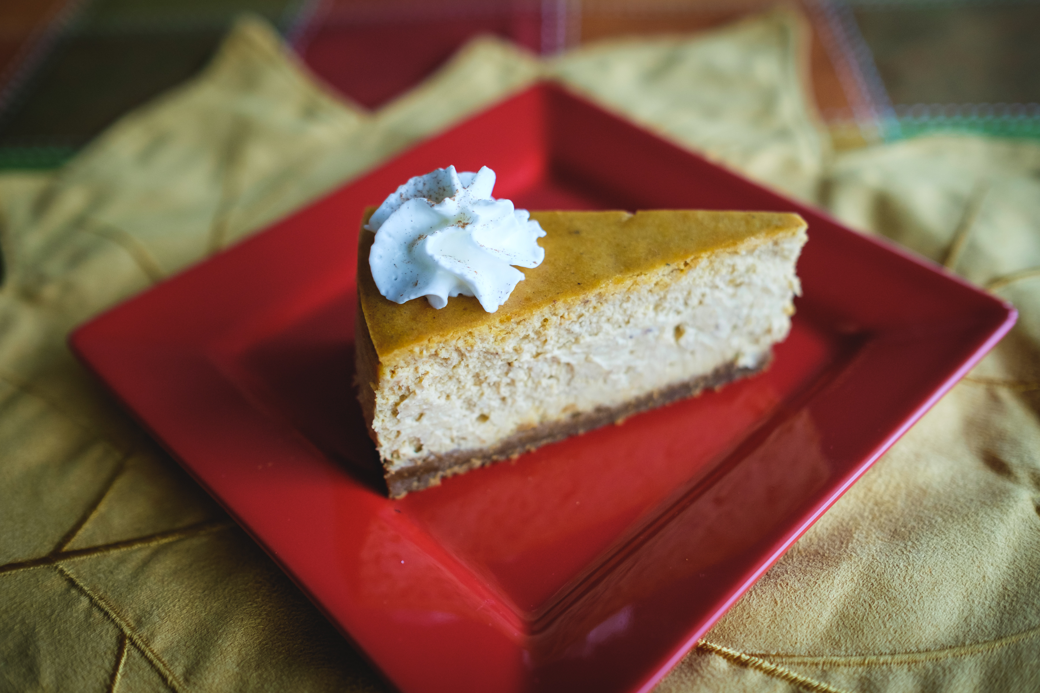 Chef Becky's Pumpkin Spice Cheesecake could be the centerpiece of your Thanksgiving meal. Photo courtesy of Craig Volpe.