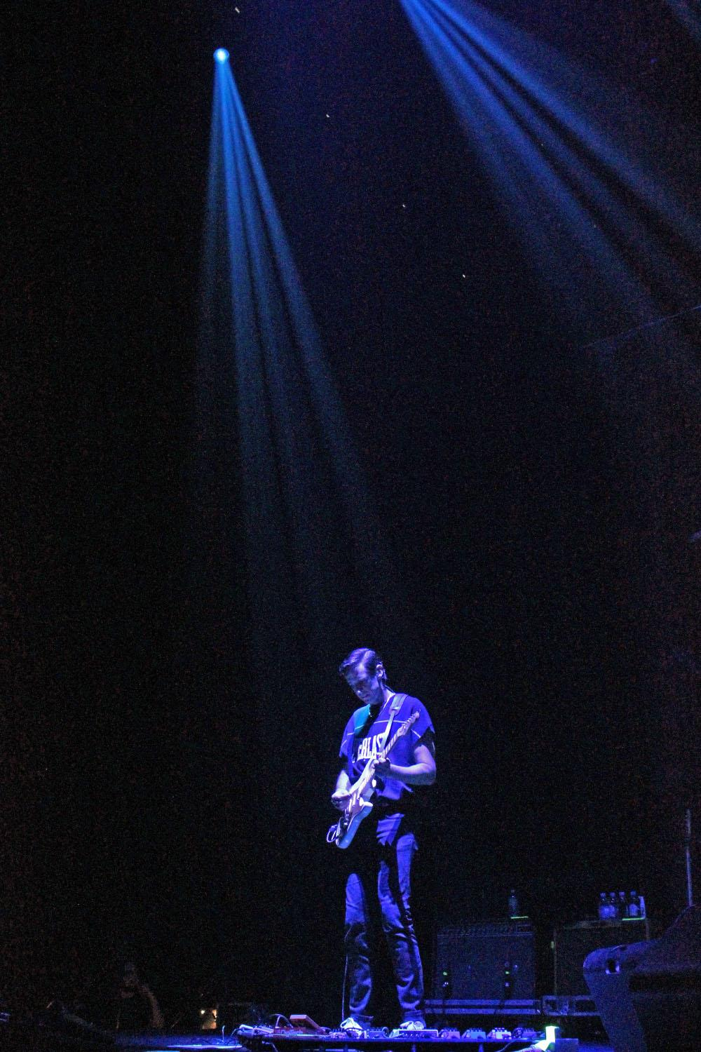 "The Night Game opened for John Mayer Saturday night at the Moda Center. Mayer is touring on ""The Search For Everything"" tour. Photo taken Saturday, July 22, 2017 by Amanda Butt."