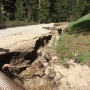 Caution: Road near Idaho City impassable due to beaver dam overflow