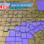 Winter Weather Advisory Saturday night