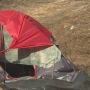 South Bend tent city disbanded, campers say they were asked to go
