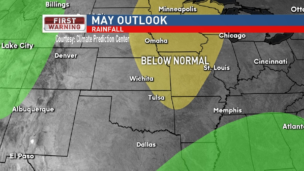 May Precipitation Outlook
